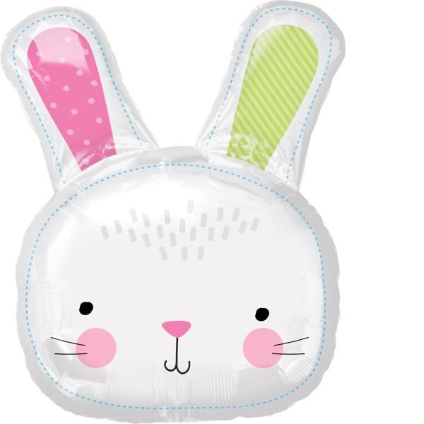 Balon foliowy Bunny Happy 60 x 71cm