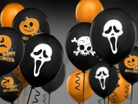 50 Luftballons Screaming Ghost 30cm