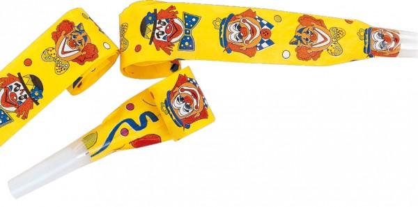 Zirkus Clown Pino Luftrüssel Tröte 4 Stück