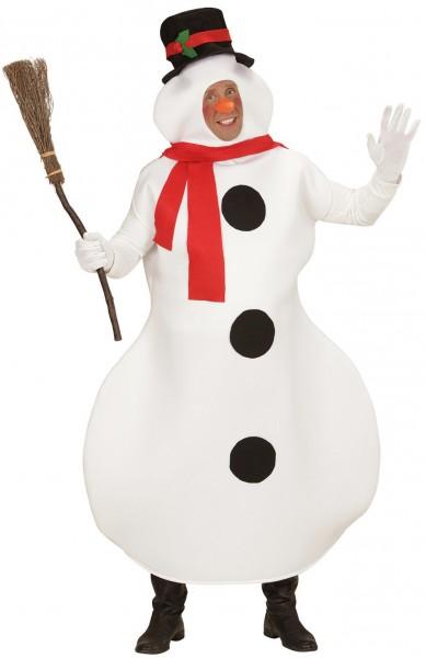 Snowman Rudi costume deluxe