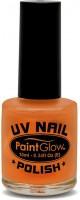 UV Paint Glow Nagellack In Orange