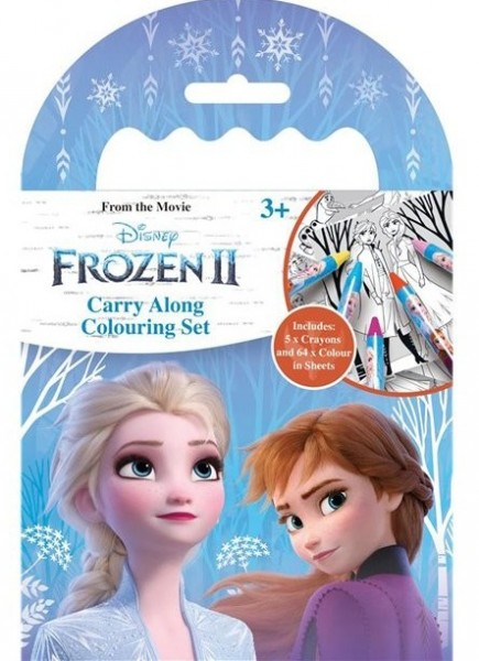 Frozen 2 portable painting set