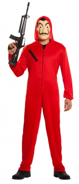 La Casa de Papel master thief costume adult