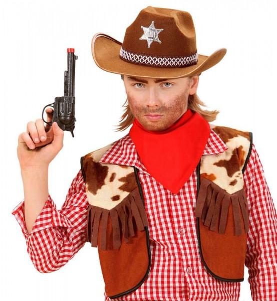 Kowbojski kapelusz szeryfa dla dzieci