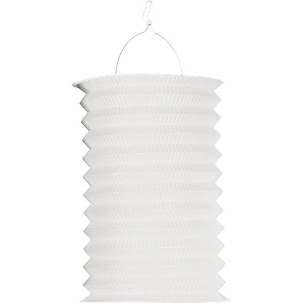 Solid color paper lantern Autumn Blossom Snow White 28cm