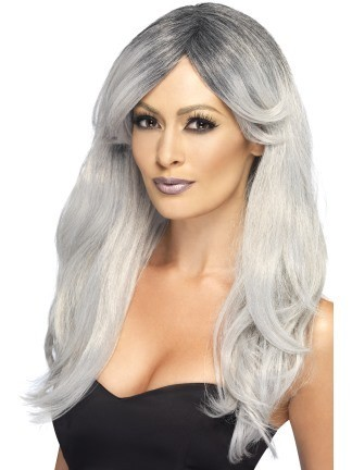Witches long hair wig