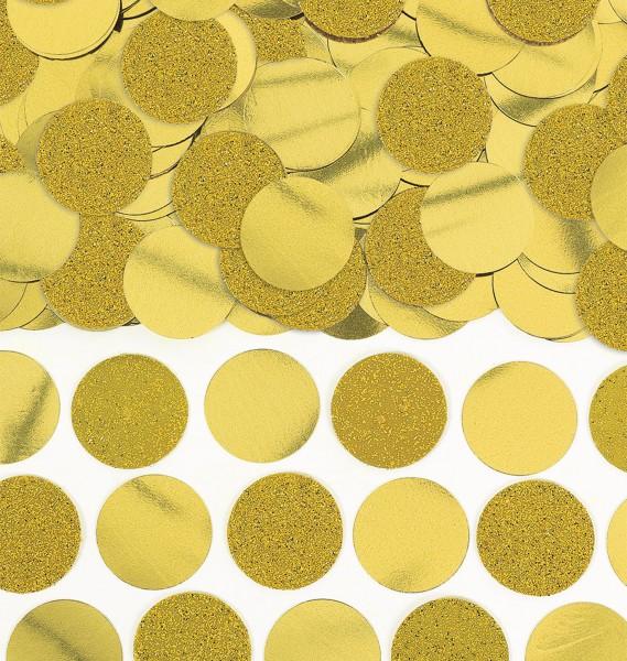 Glitter confetti Lenny gold