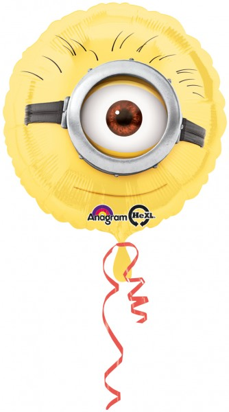Runder Minions Folienballon