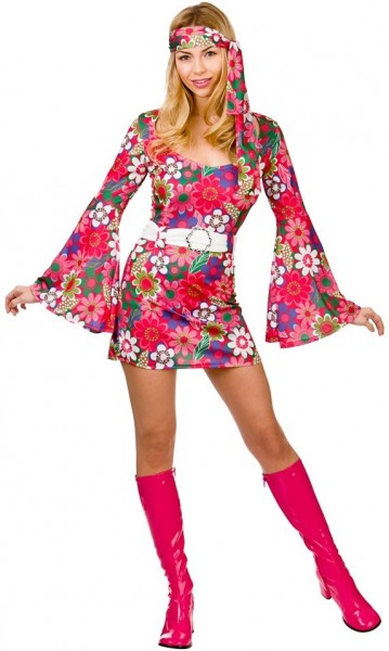 Déguisement hippie Rosalie