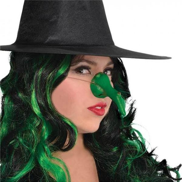 Heksenneus groen met wrat