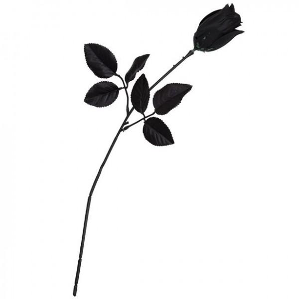 Schwarze Rose 40cm