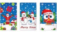 1 Mini Weihnachts-Notizblock