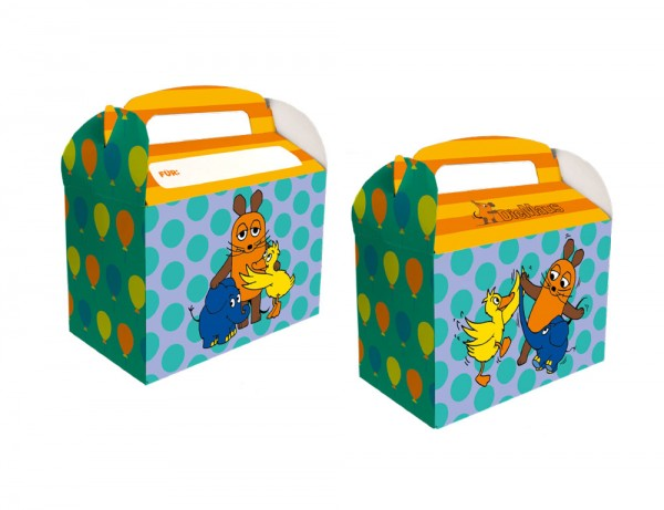 8 Sendung mit der Maus Geschenkboxen