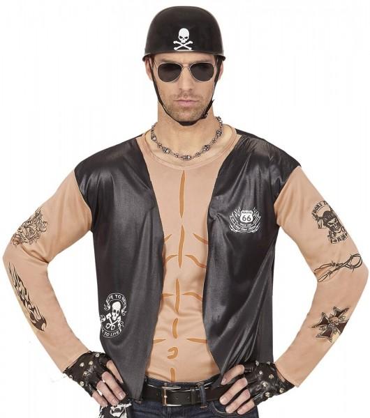 Camisa de hombre Evil Biker