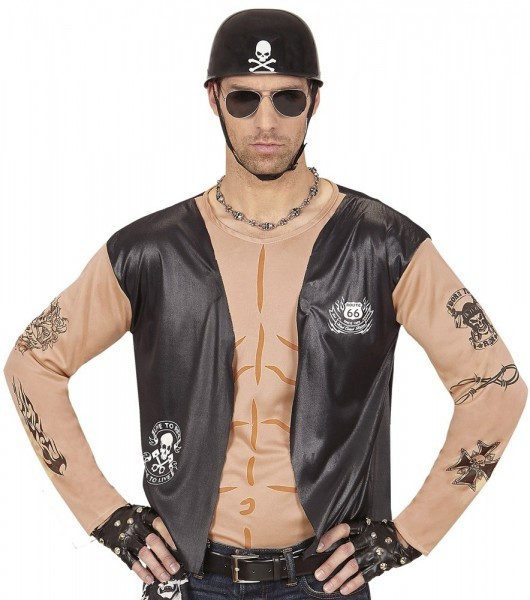 Camicia da uomo di Evil Biker