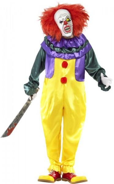 Horror clown klassiek herenkostuum