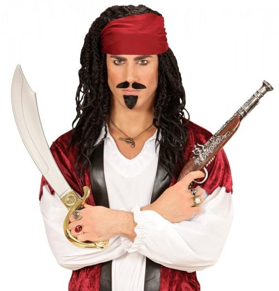 Veraltete Piraten-Pistole 43cm
