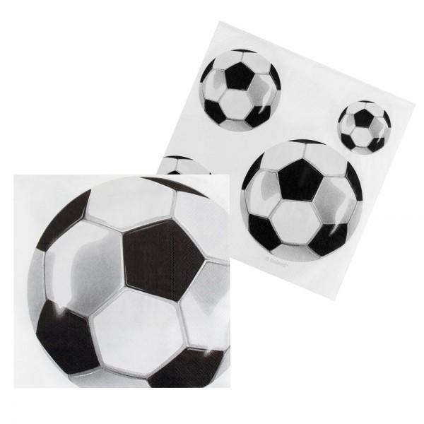 12 Fußball Party Servietten