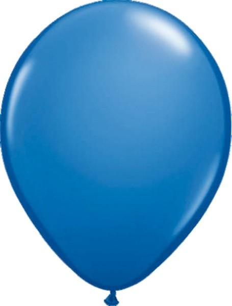 10 balloons basic blue 30cm