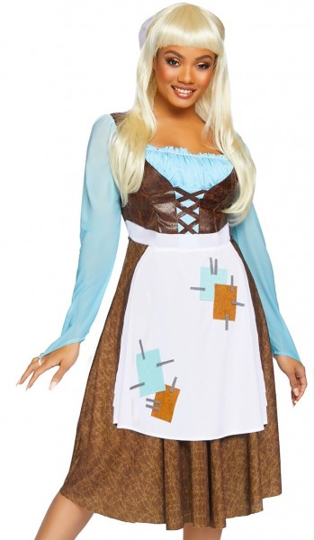 Cinderella Kostüm für Damen Deluxe