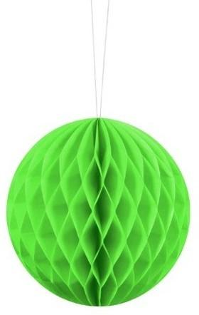 Wabenball Lumina apfelgrün 10cm