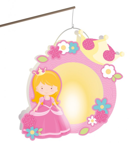 Glamoureuze Princess Daphne Lanterns Craft Kit Pink