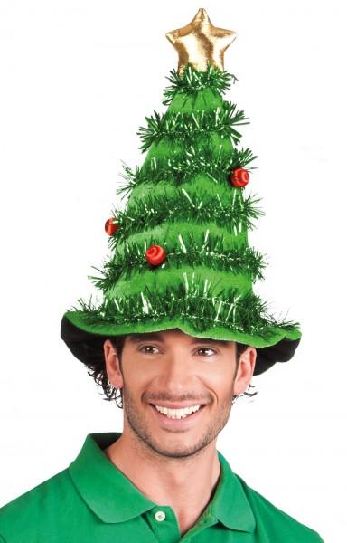 Grüne Tannenbaum Mütze