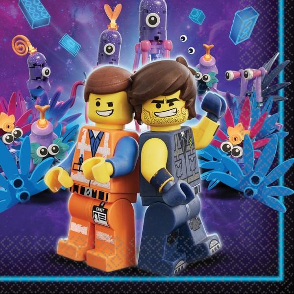 16 Lego Movie 2 Servietten 33cm