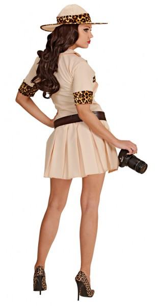 Costume da donna corto sexy Jungle Safari