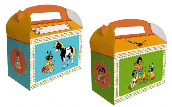 6 coffrets cadeaux Yakari Party avec champ de nom