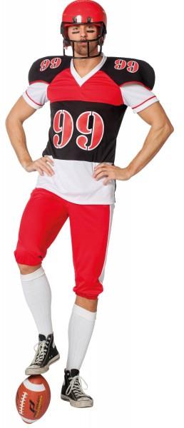 Muskelbepacktes Rugbyspieler Kostüm
