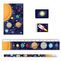 Weltraum Schreib-Set 5-teilig