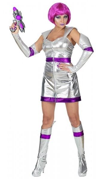 Kostium Silver Space Lady