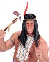 Indianerstirnband Mit Roter Feder