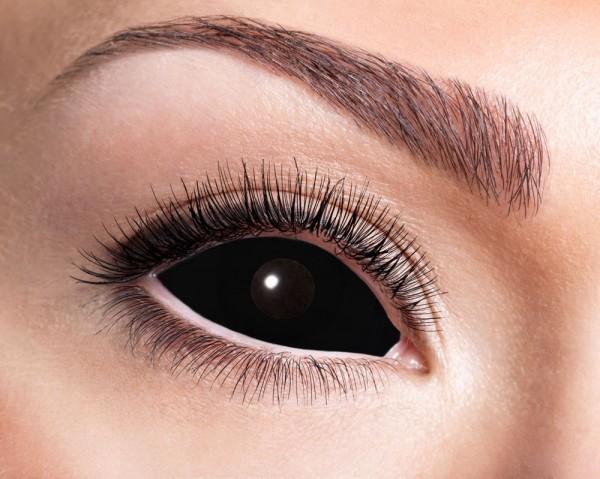 Schwarze Nero Dämonen Kontaktlinse