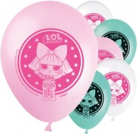 8 LOL Surprise Latexballons 30cm