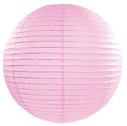 Linterna Lilly rosa hielo 45cm