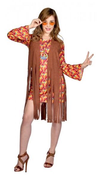 Hippie Girl Fransenkostüm