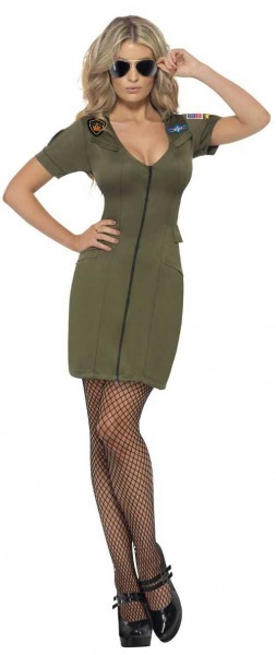 Sexy Damenkleid Top Gun
