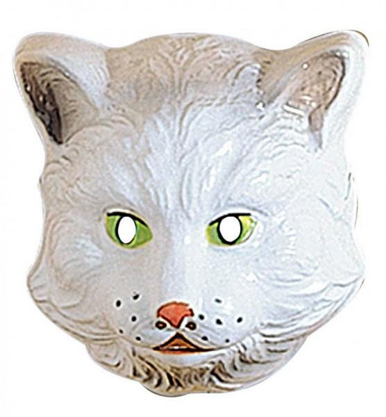 Katzenmaske Weißer Tiger Für Kinder