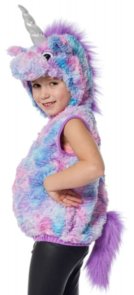Magical unicorn plush kids costume
