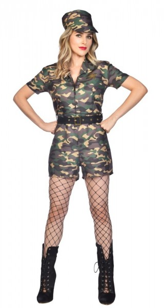 Sexy Army Costume Private Abigail Ladies