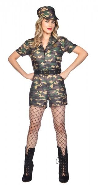 Costume militaire sexy Abigail pour femmes