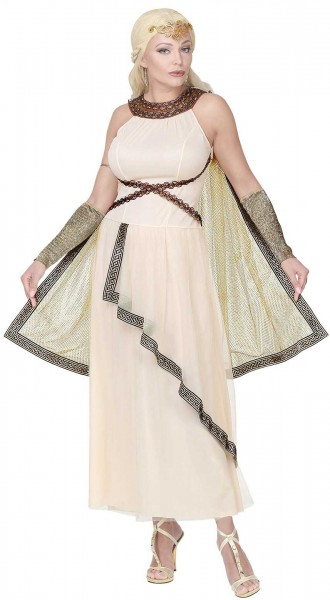 Griekse godin Hestia-kostuum