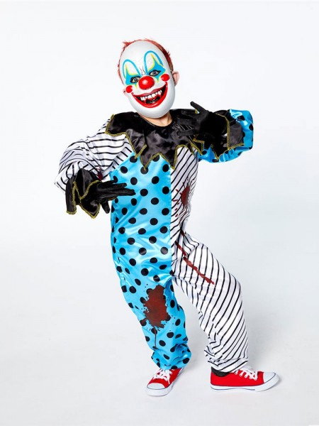 Irrer Halloween Clown Kinderkostüm