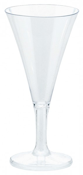 20 verres à champagne transparents 59ml