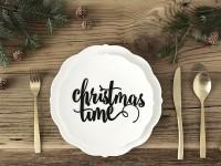 Christmas Time Schriftzug Dekoration