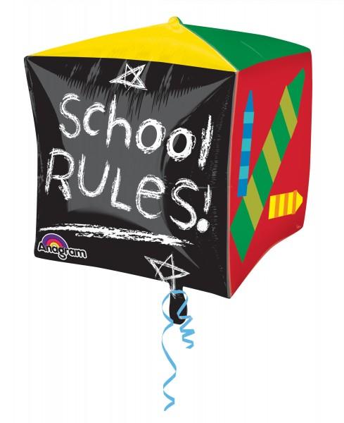 Globo foil School Rules