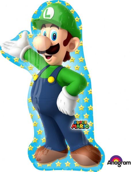 Ballon aluminium Figurine Nintendo Luigi XL