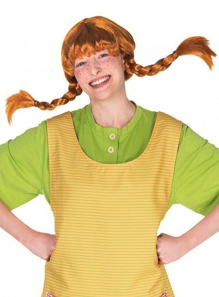 Pippi Langstrumpf Perücke für Damen